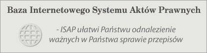 Baza Internetowego Systemu Aktów Prawnych